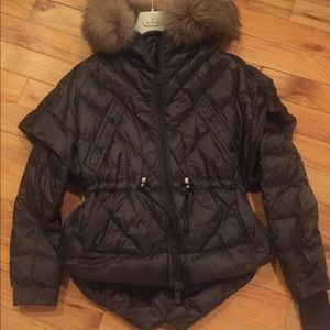 Moncler Achensee Grenoble Down Jacket with fur!
